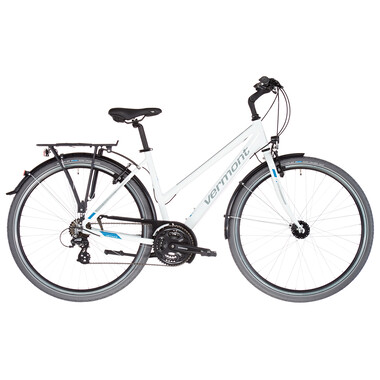 Vélo de Voyage VERMONT KINARA TRAPEZ Femme Blanc 2021